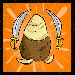 Éplucheur de patates magiques qui tuent